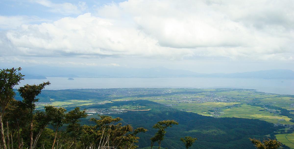 蛇谷ヶ峰山頂からの展望