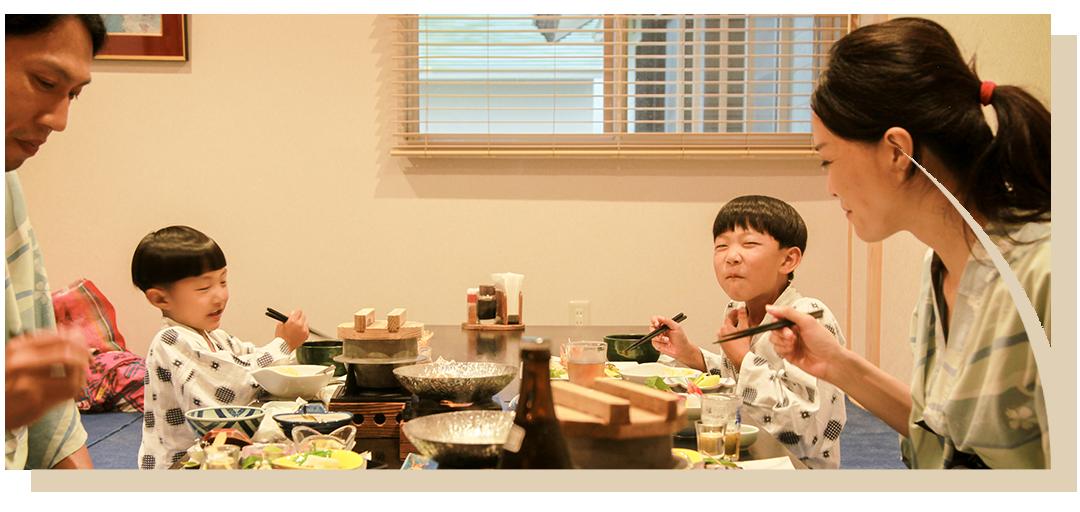 宿泊お食事